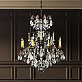 Renaissance Rock and Color Chandelier by Schonbek