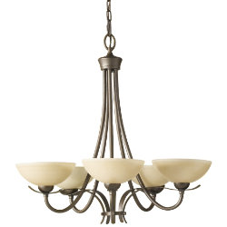 Kinsey 5-Light Chandelier by Murray Feiss
