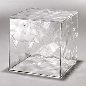 Optic Cube Storage by Kartell