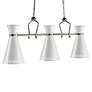 Havana 3 Light Pendant by Jonathan Adler