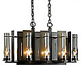 New Town Eight Light Chandelier by Hubbardton Forge