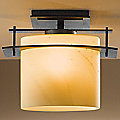 Arc Ellipse Semi-Flushmount by Hubbardton Forge