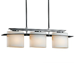 Arc Ellipse Adjustable Linear Suspension by Hubbardton Forge