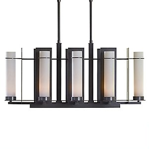 New Town Eight Light Linear Suspension by Hubbardton Forge
