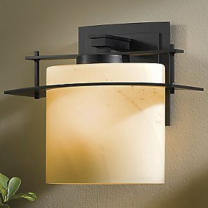 Ellipse Outdoor Wall Sconce with Glass Options by Hubbardton