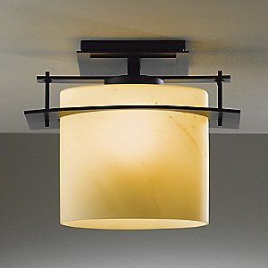 Ellipse Outdoor Semi-Flushmount by Hubbardton Forge