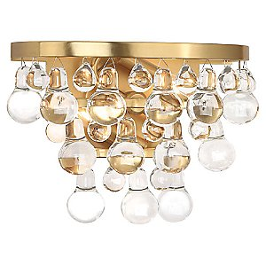 Bling Sconce by Robert Abbey