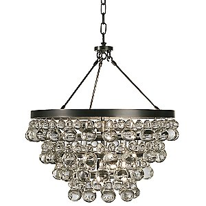 Bling Chandelier/Semi-Flushmount by Robert Abbey