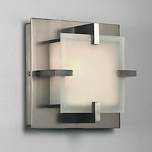Elf 7 Square Ceiling/Wall Light by Illuminating Experiences