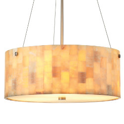 Hudson Drum Pendant by Forecast Lighting
