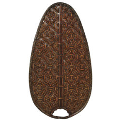 "Caruso 22"" Woven Bamboo Narrow Oval Blade Set by Fanimation"