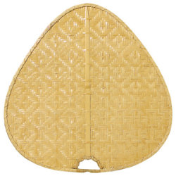 "Palisade 22"" Woven Bamboo Wide Oval Blade Set by Fanimation"