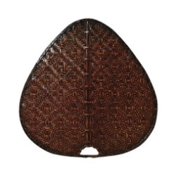 "Palisade 18"" Woven Bamboo Wide Oval Blade Set by Fanimation"