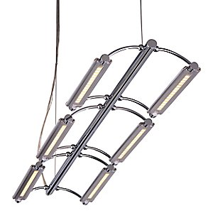 Helix LED 6-Light Linear Suspension by ET2