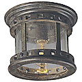 Santa Barbara VX Outdoor Flushmount by Maxim Lighting