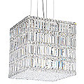 Quantum Blocks Square Pendant by Schonbek