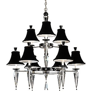 Diva 9-Light Chandelier by Schonbek