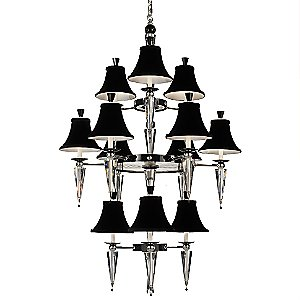 Diva 12-Light Chandelier by Schonbek