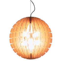 Helios 60 Wood Pendant by B.Lux