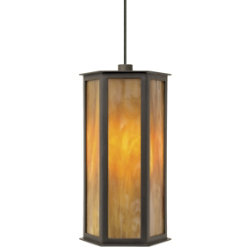 Mission Oak Pendant by Tech Lighting