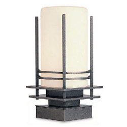 Base Cover Only for Outdoor Post Lights by Hubbardton Forge