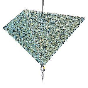 Vertex Large Pendant by Schonbek Geometrix