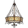 Aston Court Drum Pendant by Minka-Lavery