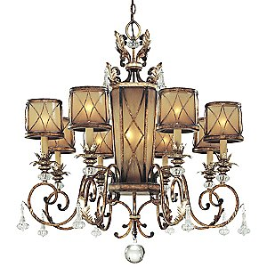 Aston Court Chandelier No. 4749 by Minka-Lavery