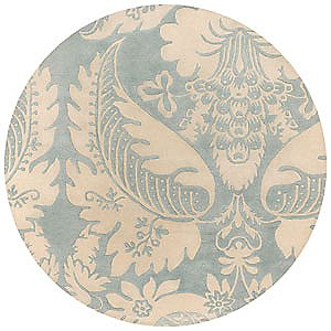 Damask Tufted Pile Rug by Thomas Paul