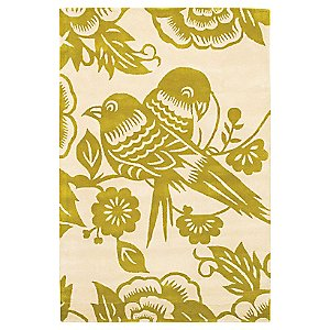Lovebirds Tufted Pile Rug by Thomas Paul