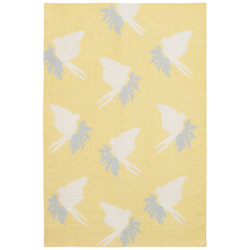 Swallows Flatweave Dhurrie Rug by Thomas Paul