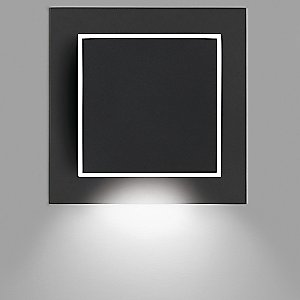 Alpha Square Wall Sconce by Vibia