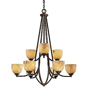 Calavera Two-Tier Chandelier by Minka-Lavery