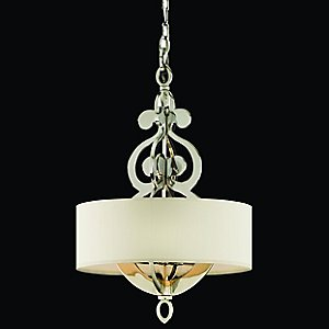 Olivia Drum Pendant by Corbett Lighting