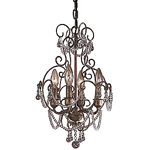 Mini Crystal Chandelier No. 3129 by Minka-Lavery