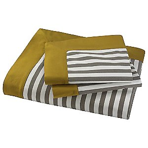 Draper Stripe Duvet Set by DwellStudio