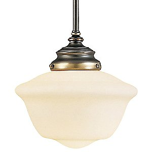 Classic Schoolhouse Designs Mini Pendant by Savoy House