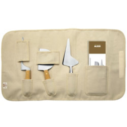 La Via Lattea Set of Soft Cheese Knives by Alessi