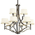 Quinn 2-Tier Chandelier by Kichler