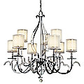Jardine Two-Tier Chandelier by Kichler