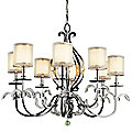 Jardine Oval Chandelier by Kichler