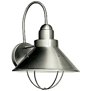 Seaside Indoor/Outdoor Wall Sconce by Kichler