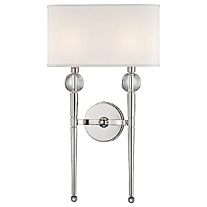 Rockland 2-Light Wall Sconce by Hudson Valley