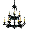 Barista Two-Tier  Chandelier by Savoy House