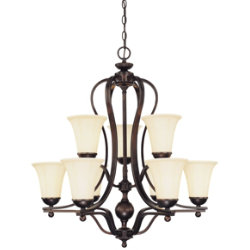 Vanguard Two-Tier Chandelier by Savoy House