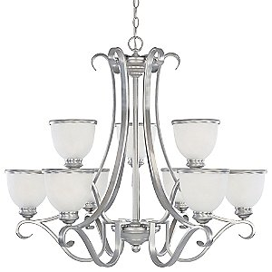 Willoughby Two-Tier Chandelier by Savoy House