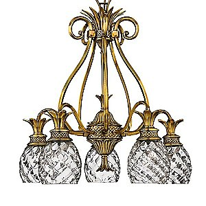 Plantation 5-Light Chandelier by Hinkley Lighting