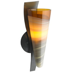 Nebbia Wall Sconce by Bacchus Glass for Tech Lighting