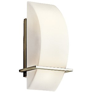 Crescent View Wall Sconce by Kichler