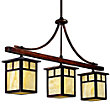 Alameda Indoor/Outdoor 3-Light Linear Suspension by Kichler